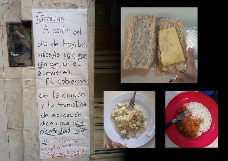 Corte en Cobo y Curapaligüe contra los recortes en comedores ...