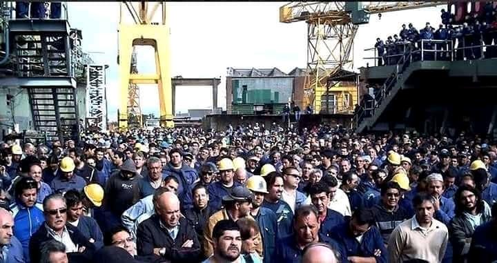 Vidal apartó al titular del Astillero Río Santiago