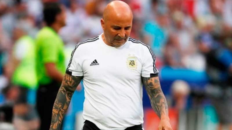 La AFA oficializa la desvinculación de Sampaoli como entrenador de Argentina