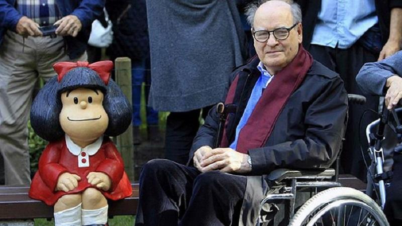 Quino rechaza a la Mafalda de