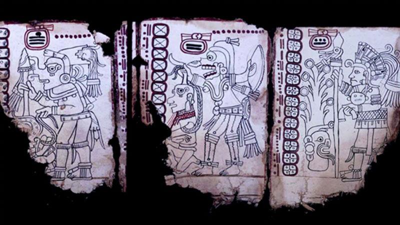 Códice Maya, el manuscrito más antiguo de América: INAH