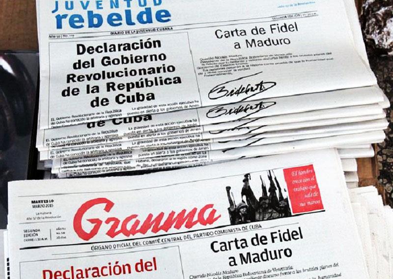 Cuba apoya a Maduro contra la escalada agresiva de USA