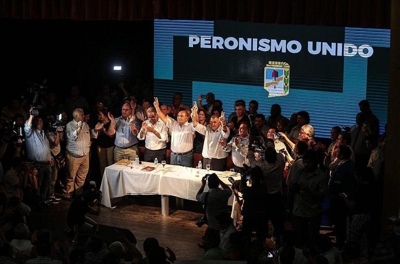 Resultado de imagen para congreso pj tucuman manzur y caponio