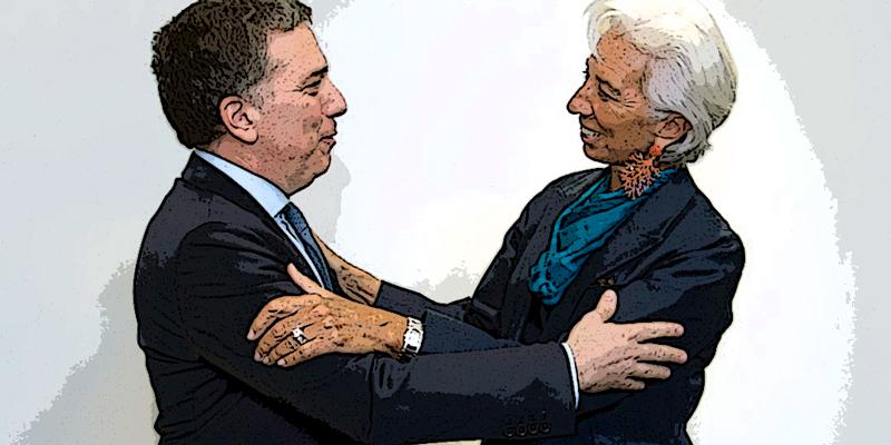 Actualidad: Lagarde ratificó el apoyo del FMI al plan de reformas