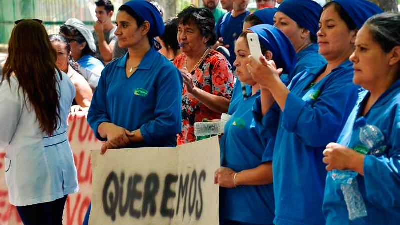 El Frente Sindical oficializó la adhesión al paro de la CGT