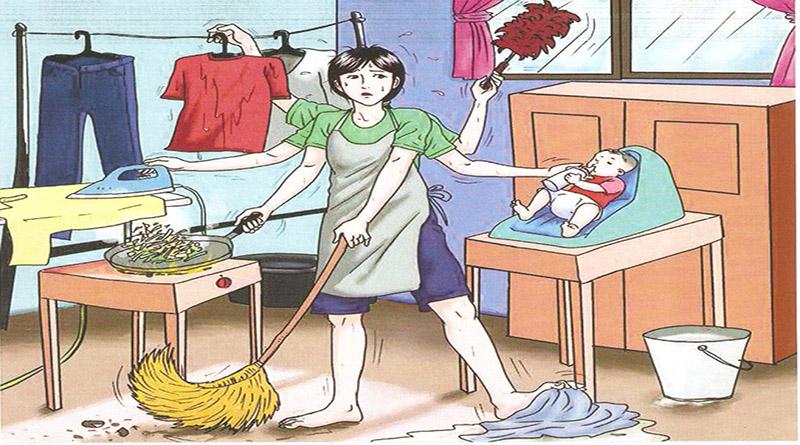 Resultado de imagen para mujer trabajo no remunerado