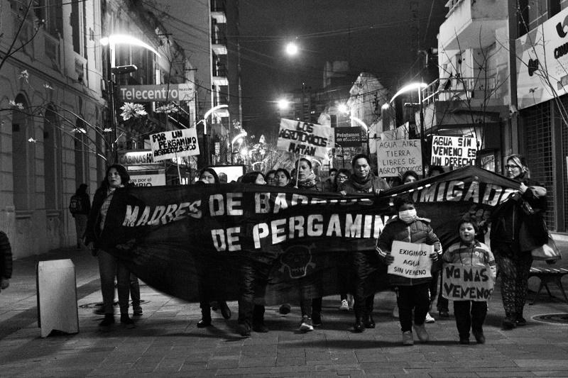 Pergamino: Madres de Barrios Fumigados logran el procesamiento de empresarios rurales - La Izquierda Diario