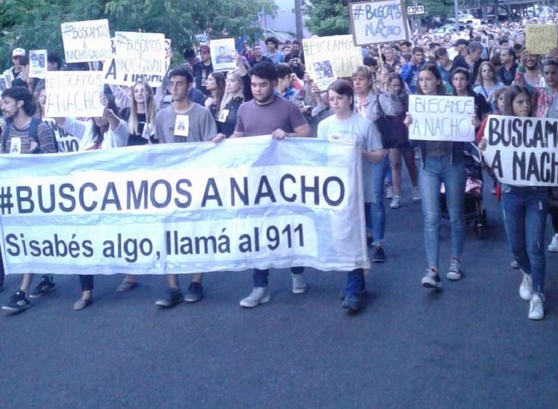 La Plata: importante marcha por la aparición de Nacho Galván - La Izquierda Diario