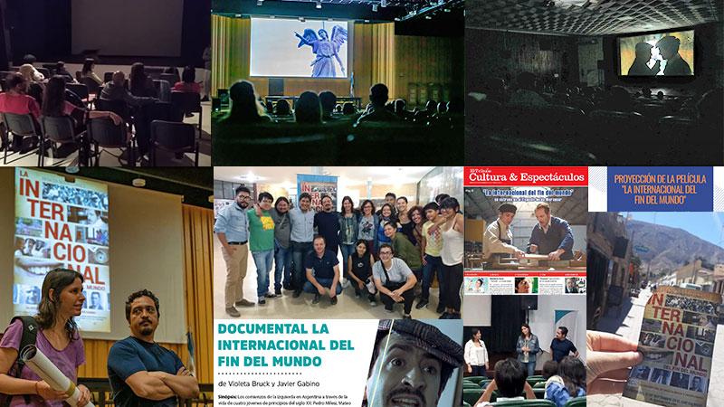 Documental La internacional: opiniones de Jujuy, Tucumán, UNGS, UBA y otras