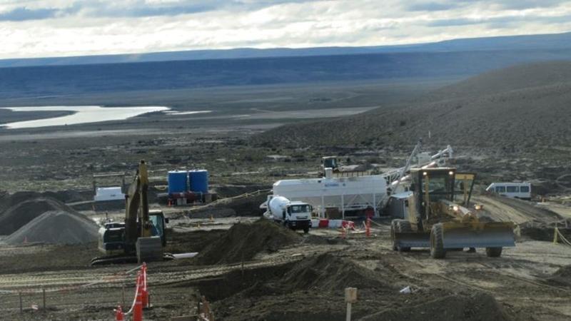 Represas del río Santa Cruz: desprendimiento de suelos alerta sobre la geología del terreno - La Izquierda Diario