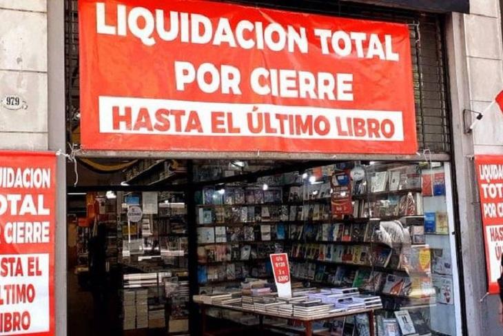 CRISIS. Cierra la histórica Librería de las Luces en Buenos Aires