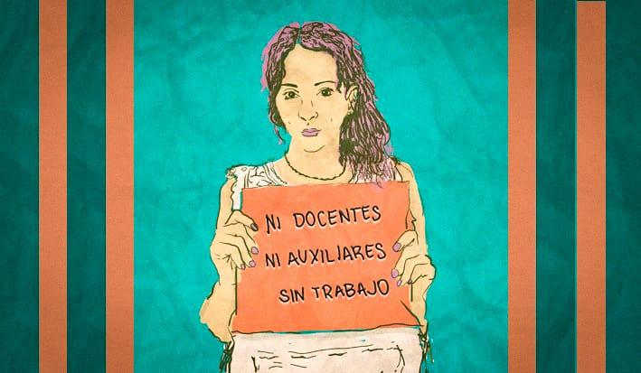 Docentes y auxiliares de Varela, Quilmes y Berazategui se organizan para reclamar por trabajo