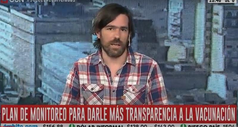 """Del Caño sobre vacunas VIP: """"Acá no hay grieta, hay un régimen de privilegios"""""""