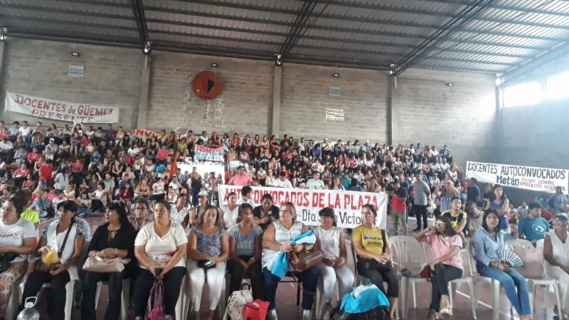 La paritaria en Salta cerró con un 36 % en 4 cuotas: hoy habrá asamblea docente