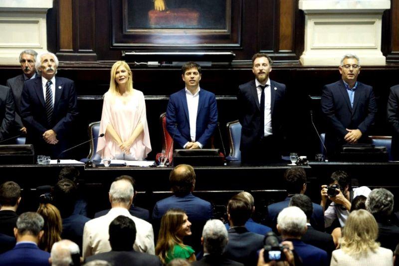Kicillof da un discurso insistiendo en la herencia recibida para justificar sus políticas