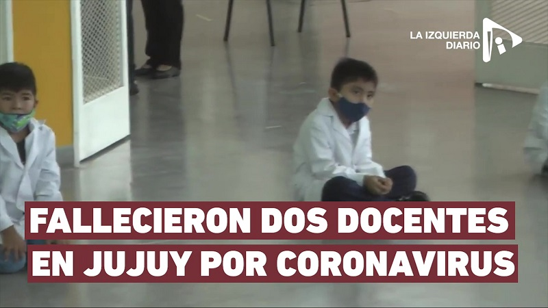 Vuelta a clases: fallecieron dos docentes en Jujuy por Coronavirus