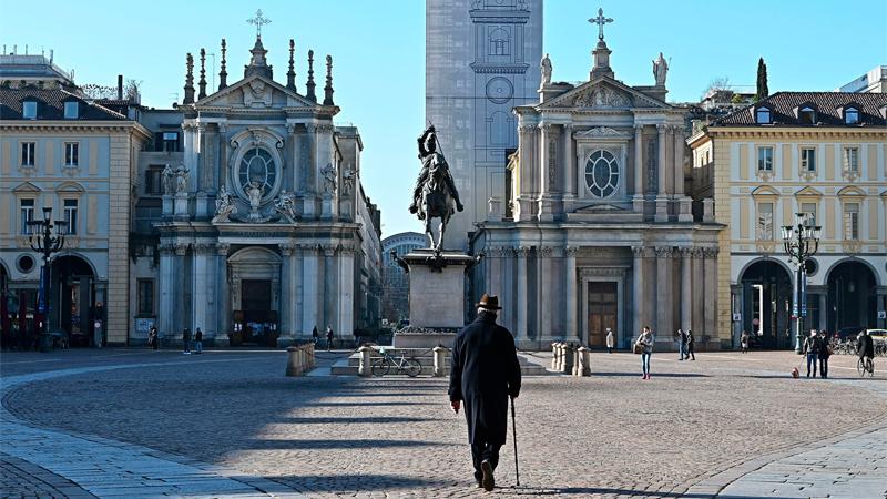 Italia espera un aumento en los casos por covid-19 y un militar gestionará la pandemia