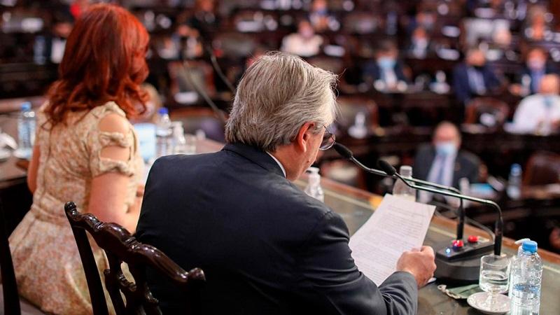 El discurso de Alberto Fernández y las prioridades económicas del Gobierno