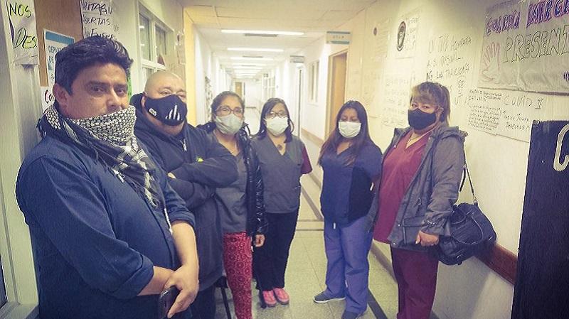 """Río Gallegos: Enfermeros afirman """" Nos sentimos ninguneados y mal tratados"""""""