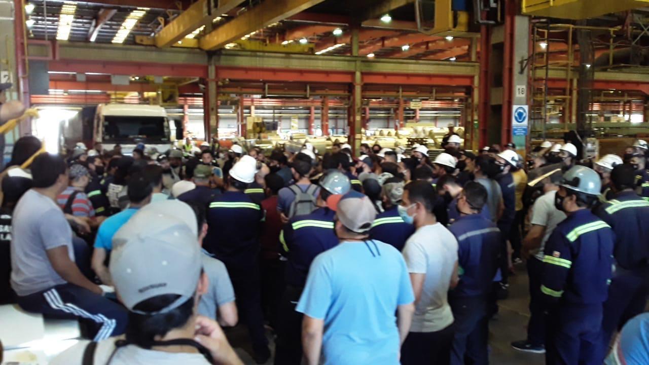 Siderar Canning: la patronal redobla la ofensiva y los trabajadores responden con paro total