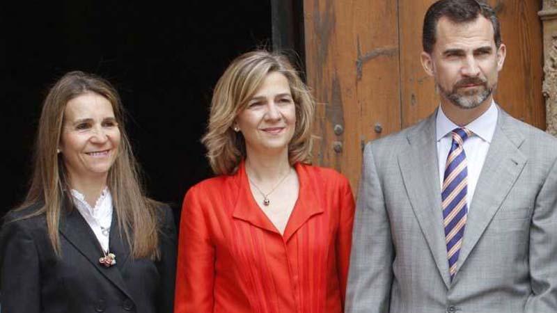 Las hermanas del rey de España se vacunan en Emiratos Árabes