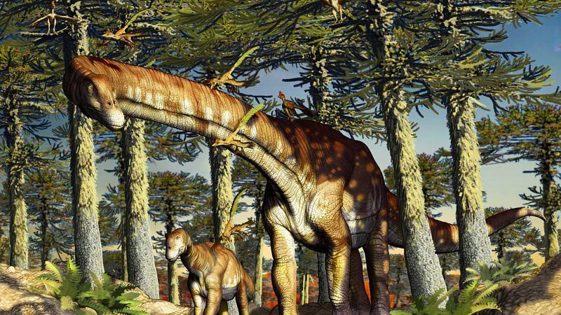 El titanosaurio más antiguo del mundo fue hallado en la Patagonia