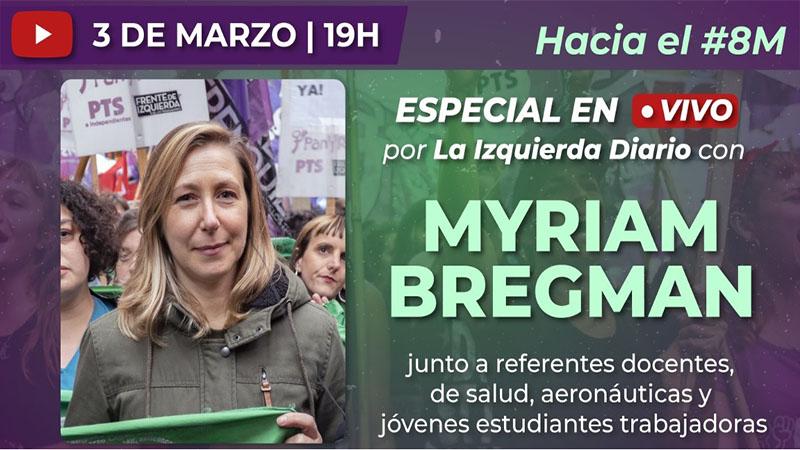|VIVO| Myriam Bregman con trabajadoras y estudiantes: El Estado es Responsable