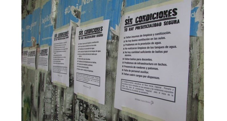 Vuelta a clases en Bahía Blanca: unidad para luchar por salud, educación y vivienda