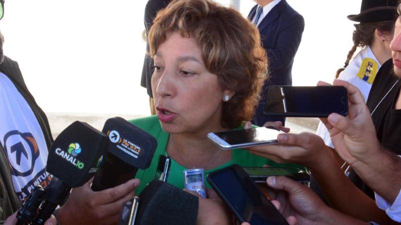La gobernadora Carreras ataca la huelga docente en Río Negro
