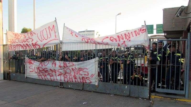 Trabajadores de Ternium-Siderar Canning se movilizarán al Ministerio de Trabajo