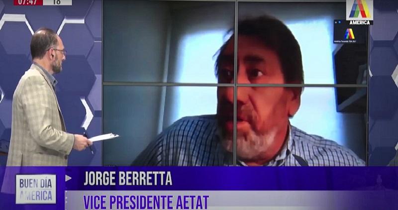 Jorge Berretta: es accionista en 10 empresas de transporte pero asegura no poder pagar los sueldos