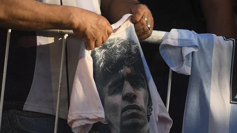 El diez por el Diez: Gianinna Maradona también convocó a la marcha por Diego
