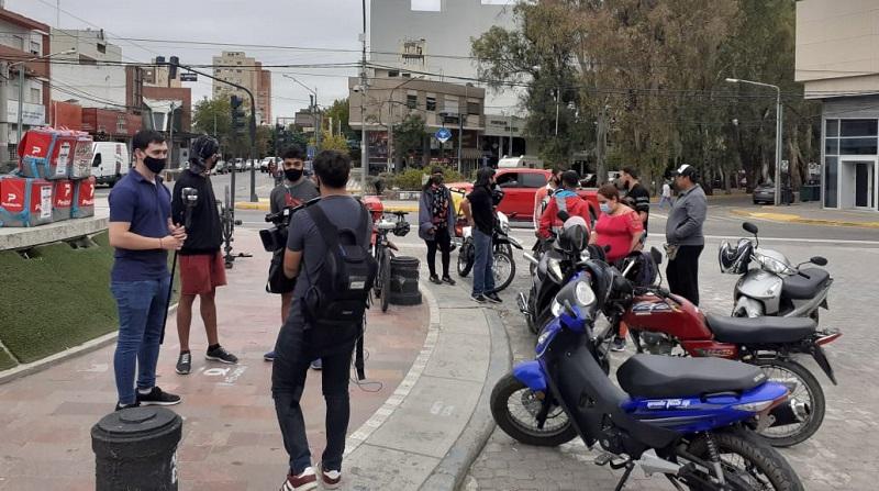 Repartidores de Neuquén se sumaron al paro nacional