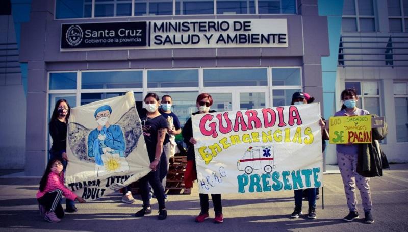 Río Gallegos: El ministro de salud, se escapó y no atendió a las y los enfermeros