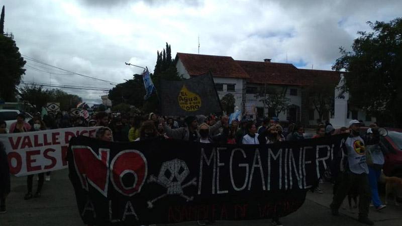 La juventud de Rawson se organiza contra la megamineria