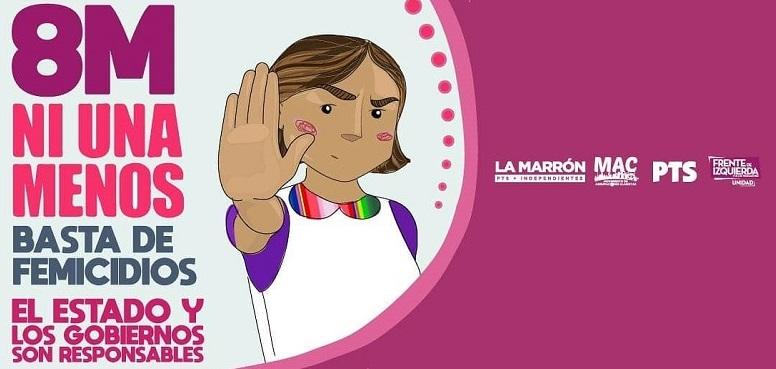 8M: Las y los docentes ganemos las calles en el Día Internacional de la Mujer Trabajadora