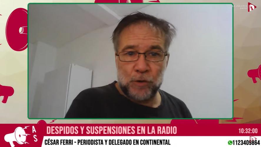 """Trabajadores de Radio Continental: """"No vamos a tolerar ni suspensiones ni despidos"""""""