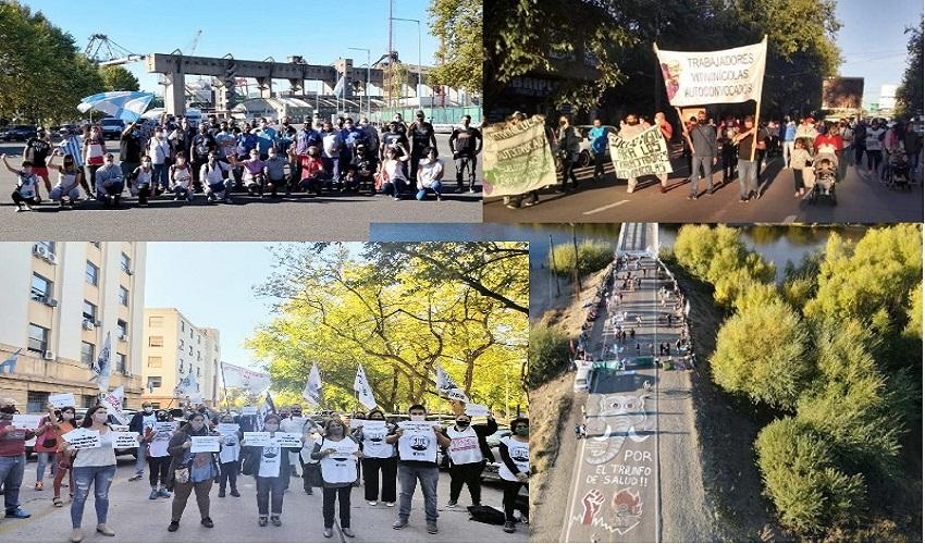 Nuestras vidas y nuestra salud importan. En Mendoza lxs trabajadores de la educación decimos basta. Paro y Caravanazo
