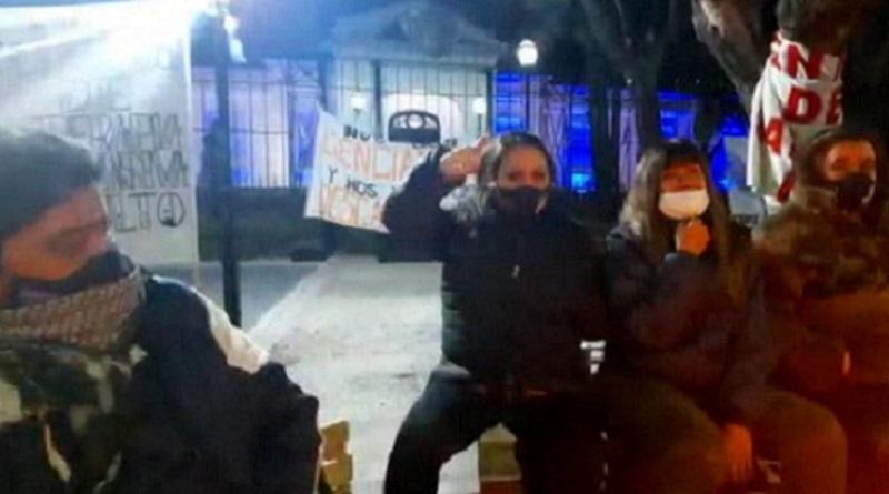 Río Gallegos: las y los enfermeros autoconvocados se solidarizan con la lucha neuquina