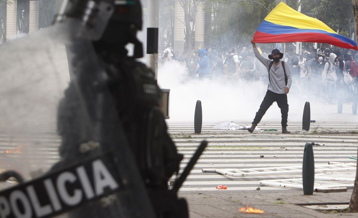 Latinoamérica. Represión policial a las protestas en Colombia deja al menos  siete muertos