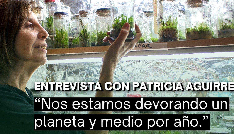 """Patricia Aguirre: """"Nos estamos devorando un planeta y medio por año"""""""