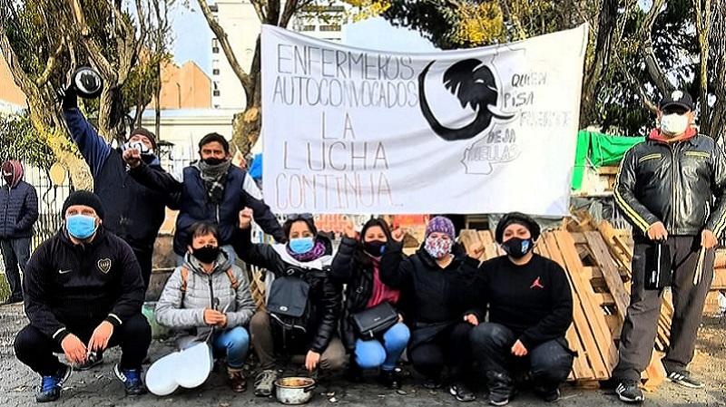Río Gallegos: huelga de hambre de un enfermero y la indiferencia de Alicia Kirchner