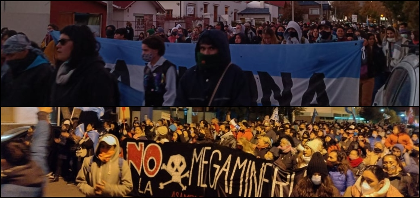 [Galeria] Movilizaciones masivas repudian el desalojo del gobierno.