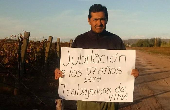 Vitvinícolas lanzan campaña por la jubilación anticipada a los 57 años