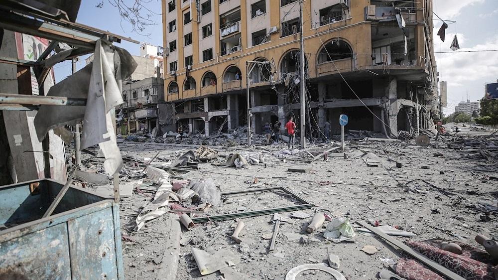 Abajo los bombardeos del estado sionista contra el pueblo palestino