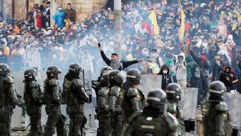 Audiencia pública en la legislatura de Buenos Aires en solidaridad con el pueblo de Colombia