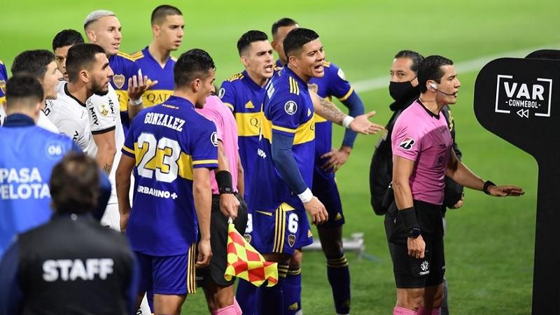 Boca, varado en el VAR: injusto empate sin goles ante Atlético Mineiro