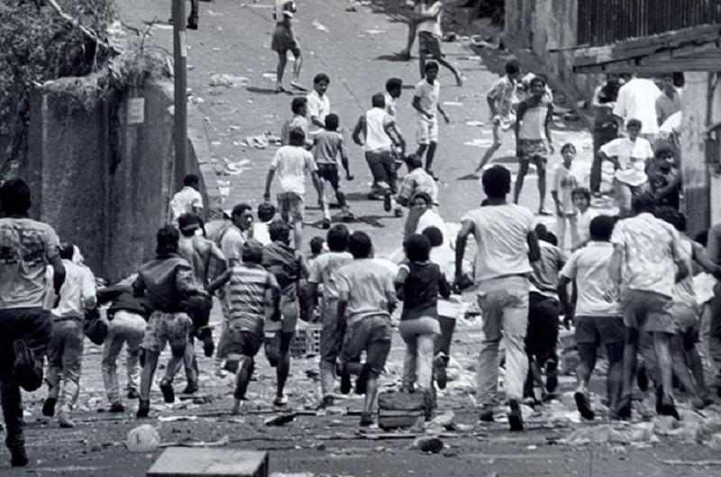 """El Caracazo: golpe de muerte al """"puntofijismo"""""""