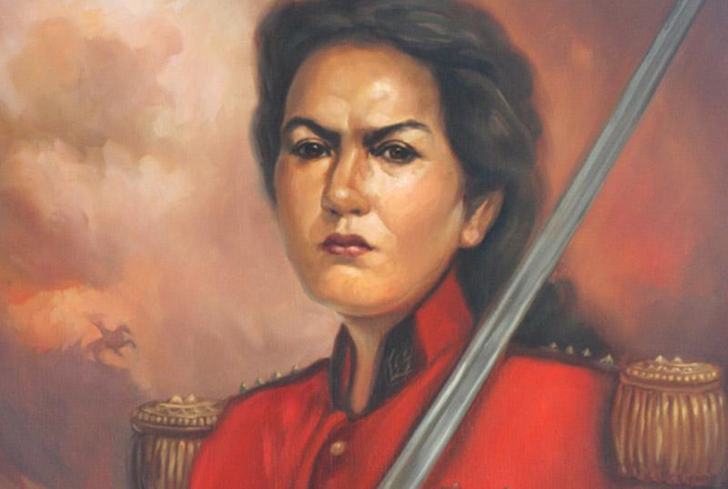 Juana Azurduy Flor Del Alto Perú