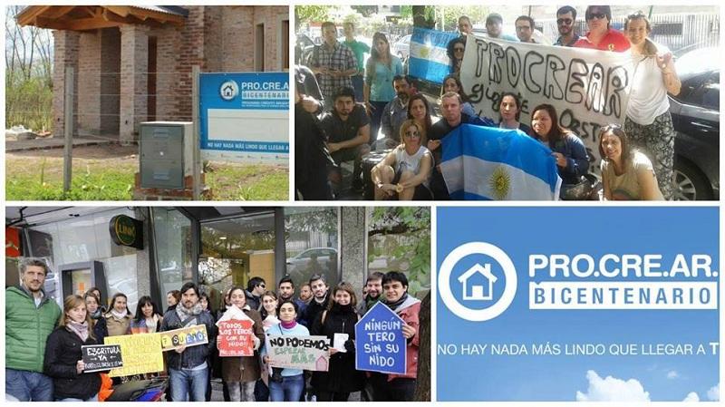 Procrear Beneficiarios De La Plata Movilizan Al Banco